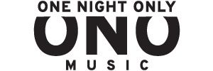 One Night Only Music Logo 300x100 Charcoal on White